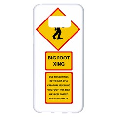 Bigfoot Samsung Galaxy S8 Plus White Seamless Case by Valentinaart