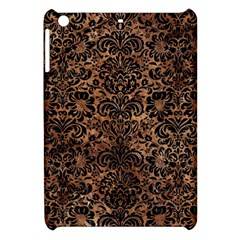 Damask2 Black Marble & Brown Stone (r) Apple Ipad Mini Hardshell Case by trendistuff