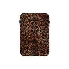 Damask2 Black Marble & Brown Stone (r) Apple Ipad Mini Protective Soft Case by trendistuff