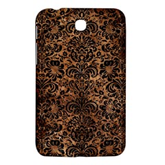 Damask2 Black Marble & Brown Stone (r) Samsung Galaxy Tab 3 (7 ) P3200 Hardshell Case  by trendistuff