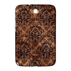 Damask1 Black Marble & Brown Stone (r) Samsung Galaxy Note 8 0 N5100 Hardshell Case  by trendistuff