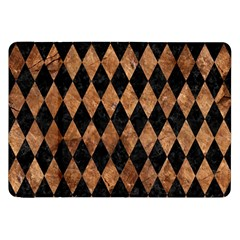 Diamond1 Black Marble & Brown Stone Samsung Galaxy Tab 8 9  P7300 Flip Case by trendistuff