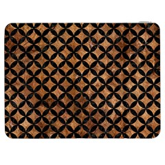 Circles3 Black Marble & Brown Stone (r) Samsung Galaxy Tab 7  P1000 Flip Case by trendistuff