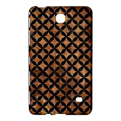 Circles3 Black Marble & Brown Stone (r) Samsung Galaxy Tab 4 (8 ) Hardshell Case  by trendistuff