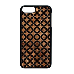 Circles3 Black Marble & Brown Stone (r) Apple Iphone 7 Plus Seamless Case (black) by trendistuff
