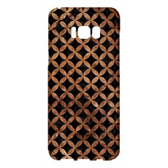 Circles3 Black Marble & Brown Stone Samsung Galaxy S8 Plus Hardshell Case  by trendistuff
