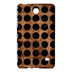 Circles1 Black Marble & Brown Stone (r) Samsung Galaxy Tab 4 (7 ) Hardshell Case  by trendistuff