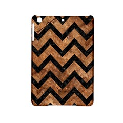 Chevron9 Black Marble & Brown Stone (r) Apple Ipad Mini 2 Hardshell Case by trendistuff