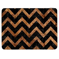 Chevron9 Black Marble & Brown Stone Samsung Galaxy Tab 7  P1000 Flip Case by trendistuff