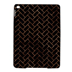 Brick2 Black Marble & Brown Stone Apple Ipad Air 2 Hardshell Case by trendistuff