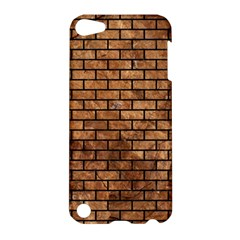 Brick1 Black Marble & Brown Stone (r) Apple Ipod Touch 5 Hardshell Case by trendistuff