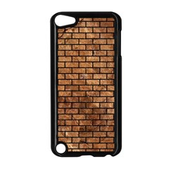 Brick1 Black Marble & Brown Stone (r) Apple Ipod Touch 5 Case (black) by trendistuff