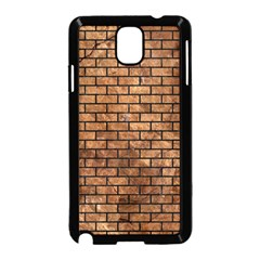 Brick1 Black Marble & Brown Stone (r) Samsung Galaxy Note 3 Neo Hardshell Case (black) by trendistuff