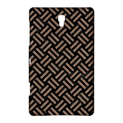 Woven2 Black Marble & Brown Colored Pencil Samsung Galaxy Tab S (8 4 ) Hardshell Case  by trendistuff