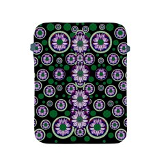 Fantasy Flower Forest  In Peacock Jungle Wood Apple Ipad 2/3/4 Protective Soft Cases by pepitasart