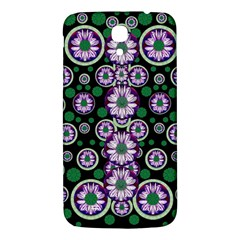 Fantasy Flower Forest  In Peacock Jungle Wood Samsung Galaxy Mega I9200 Hardshell Back Case by pepitasart
