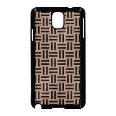 Woven1 Black Marble & Brown Colored Pencil (r) Samsung Galaxy Note 3 Neo Hardshell Case (black) by trendistuff