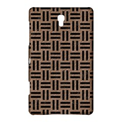 Woven1 Black Marble & Brown Colored Pencil (r) Samsung Galaxy Tab S (8 4 ) Hardshell Case  by trendistuff