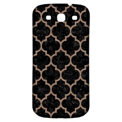 Tile1 Black Marble & Brown Colored Pencil Samsung Galaxy S3 S Iii Classic Hardshell Back Case by trendistuff