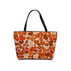 Sparkling Hearts,orange Shoulder Handbags