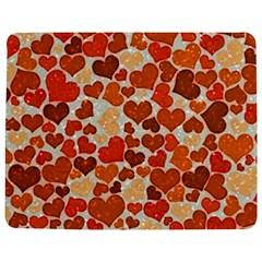 Sparkling Hearts,orange Jigsaw Puzzle Photo Stand (rectangular)