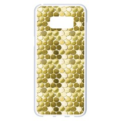 Cleopatras Gold Samsung Galaxy S8 Plus White Seamless Case by psweetsdesign
