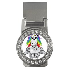 Angry Unicorn Money Clips (cz)  by KAllan