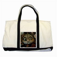Cheshire Cat Two Tone Tote Bag by KAllan