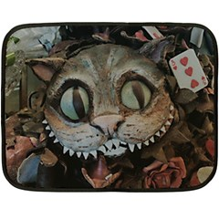 Cheshire Cat Fleece Blanket (mini)