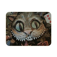 Cheshire Cat Double Sided Flano Blanket (mini)  by KAllan