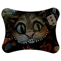 Cheshire Cat Jigsaw Puzzle Photo Stand (bow) by KAllan