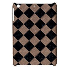 Square2 Black Marble & Brown Colored Pencil Apple Ipad Mini Hardshell Case by trendistuff