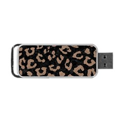 Skin5 Black Marble & Brown Colored Pencil (r) Portable Usb Flash (two Sides) by trendistuff