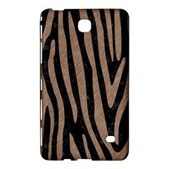 Skin4 Black Marble & Brown Colored Pencil (r) Samsung Galaxy Tab 4 (8 ) Hardshell Case  by trendistuff
