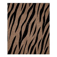 Skin3 Black Marble & Brown Colored Pencil (r) Shower Curtain 60  X 72  (medium) by trendistuff