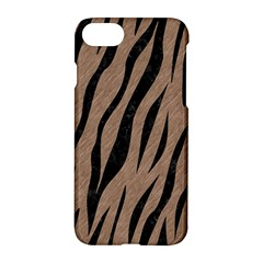 Skin3 Black Marble & Brown Colored Pencil (r) Apple Iphone 7 Hardshell Case