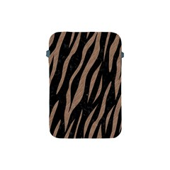 Skin3 Black Marble & Brown Colored Pencil Apple Ipad Mini Protective Soft Case by trendistuff
