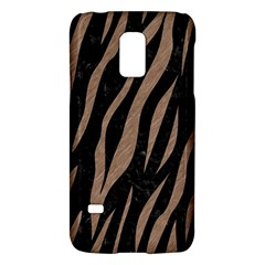 Skin3 Black Marble & Brown Colored Pencil Samsung Galaxy S5 Mini Hardshell Case  by trendistuff