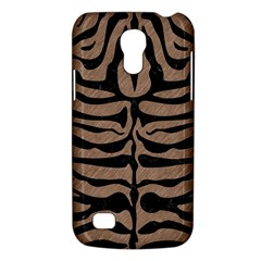Skin2 Black Marble & Brown Colored Pencil (r) Samsung Galaxy S4 Mini (gt I9190) Hardshell Case  by trendistuff