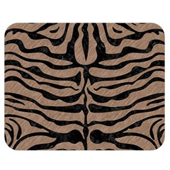 Skin2 Black Marble & Brown Colored Pencil (r) Double Sided Flano Blanket (medium) by trendistuff