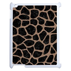 Skin1 Black Marble & Brown Colored Pencil (r) Apple Ipad 2 Case (white) by trendistuff