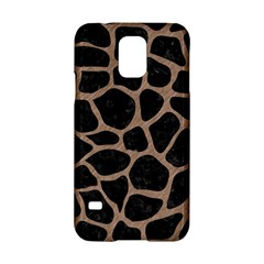 Skin1 Black Marble & Brown Colored Pencil (r) Samsung Galaxy S5 Hardshell Case  by trendistuff