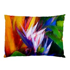Palms02 Pillow Case by psweetsdesign