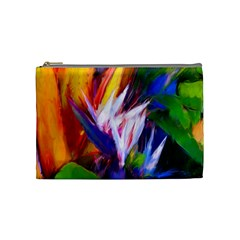 Palms02 Cosmetic Bag (medium)  by psweetsdesign