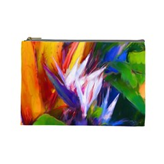 Palms02 Cosmetic Bag (large)  by psweetsdesign