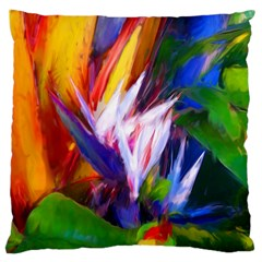 Palms02 Large Cushion Case (two Sides) by psweetsdesign
