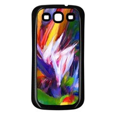 Palms02 Samsung Galaxy S3 Back Case (black) by psweetsdesign