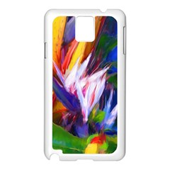 Palms02 Samsung Galaxy Note 3 N9005 Case (white) by psweetsdesign