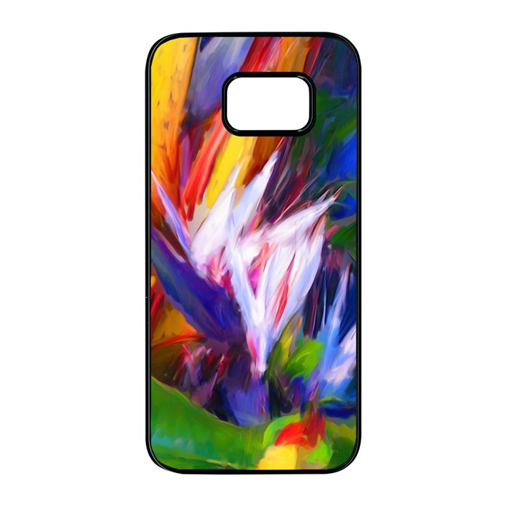 Palms02 Samsung Galaxy S7 edge Black Seamless Case