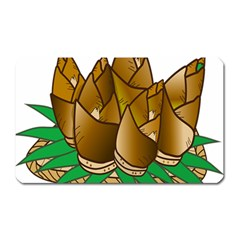 Young Bamboo Magnet (rectangular) by Mariart